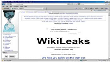 WikiLeaks blasts Google for quietly handing emails to government