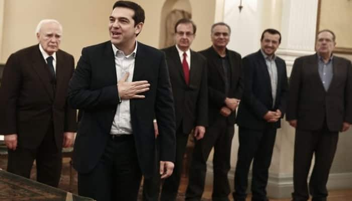 Greece's Syriza-led coalition government line-up unveiled