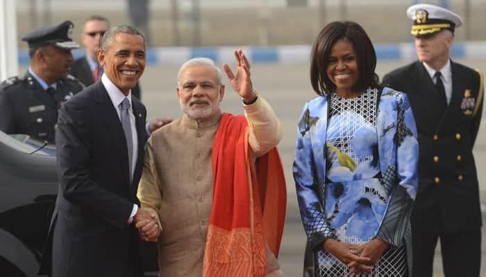 Michelle Obama chose Indian-American designer's creation!