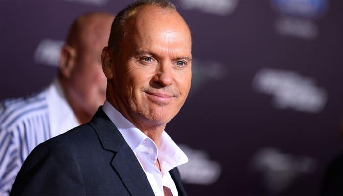 Michael Keaton reckons son Sean Douglas is a 'handsome dude'