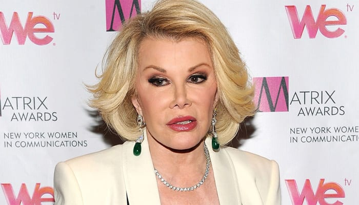 Joan Rivers' daughter files negligence lawsuit against clinic