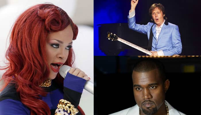 RiRi joins forces with Kanye West, McCartney for new acoustic ballad 'Four Five Seconds'