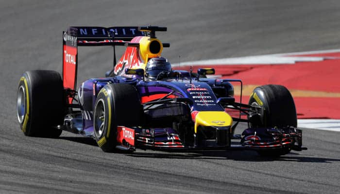 Red Bull flat out as first F1 test looms