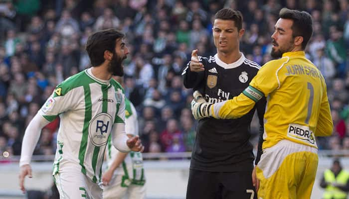 Cristiano Ronaldo handed two-match ban for kicking opponent