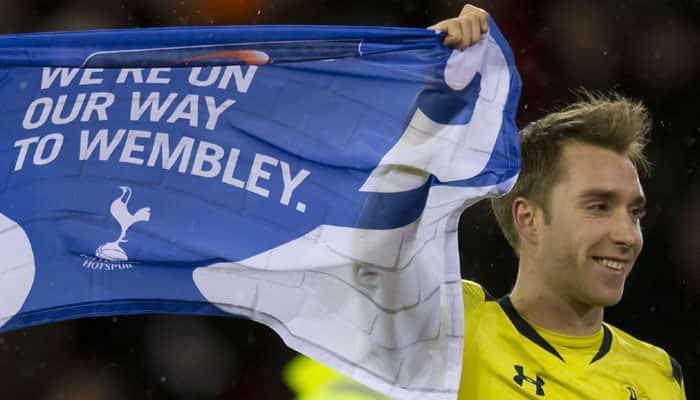 Christian Eriksen steers Tottenham into League Cup final