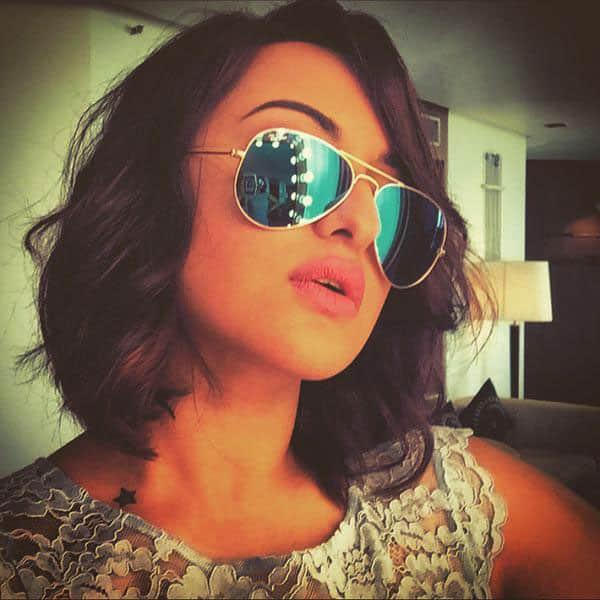 Sonakshi Sinha :- The Long and Short of it  #shootshennanigans #ilovemyjob #selfieaddict pic.twitter