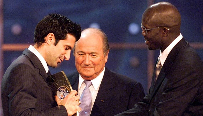 Portugal welcomes Luis Figo's decision bid for FIFA presidency