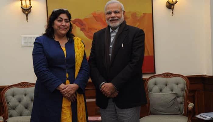 Gurinder Chadha meets PM Narendra Modi
