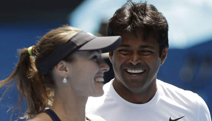 Leander Paes and Martina Hingis storm into Australian Open final