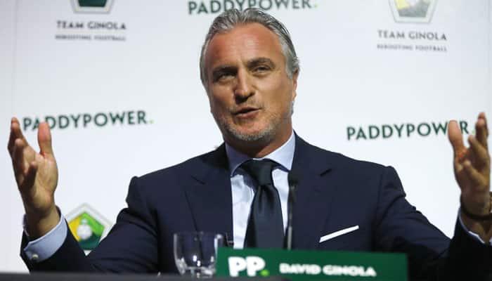 David Ginola suggests doomed FIFA bid is over