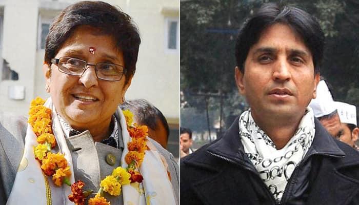 "BJP moves EC over Kumar Vishwas' ""sexist comment"" against Kiran Bedi"