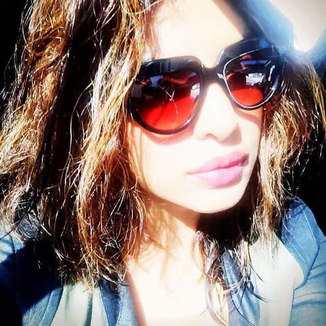 priyanka chopra :- Cali sunshine... -instagram
