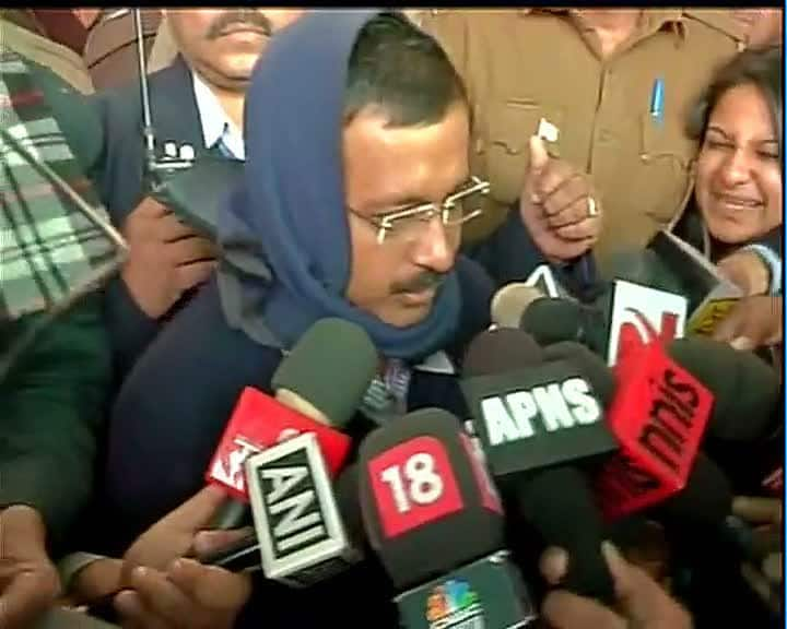 People want freedom from corruption, bribery & am hopeful they will vote accordingly : Arvind Kejriwal #DelhiVotes  -twitter