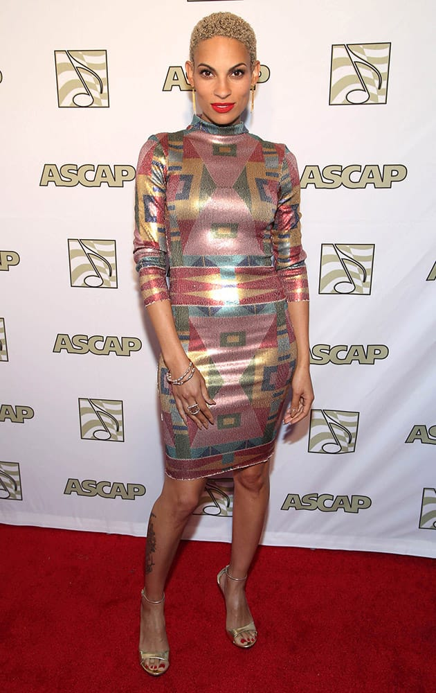 Goapele attends the ASCAP Presents The 2015 Grammy Nominees Brunch at the SLS Hotel Beverly Hills in Beverly Hills, Calif.