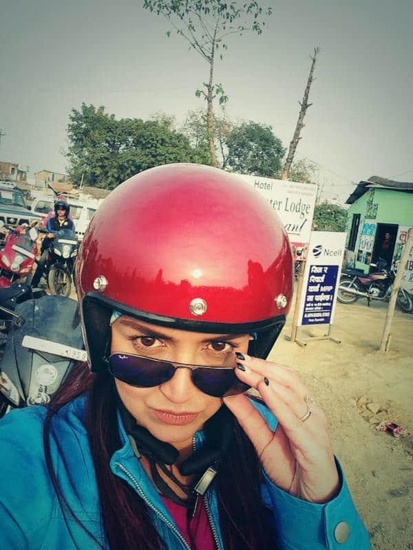 Esha Deol : Hello lumbini Nepal -twitter