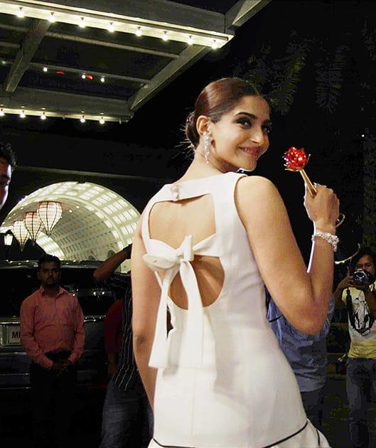 Sonam Kapoor during the Femina Beauty Awards-2015 in Mumbai.