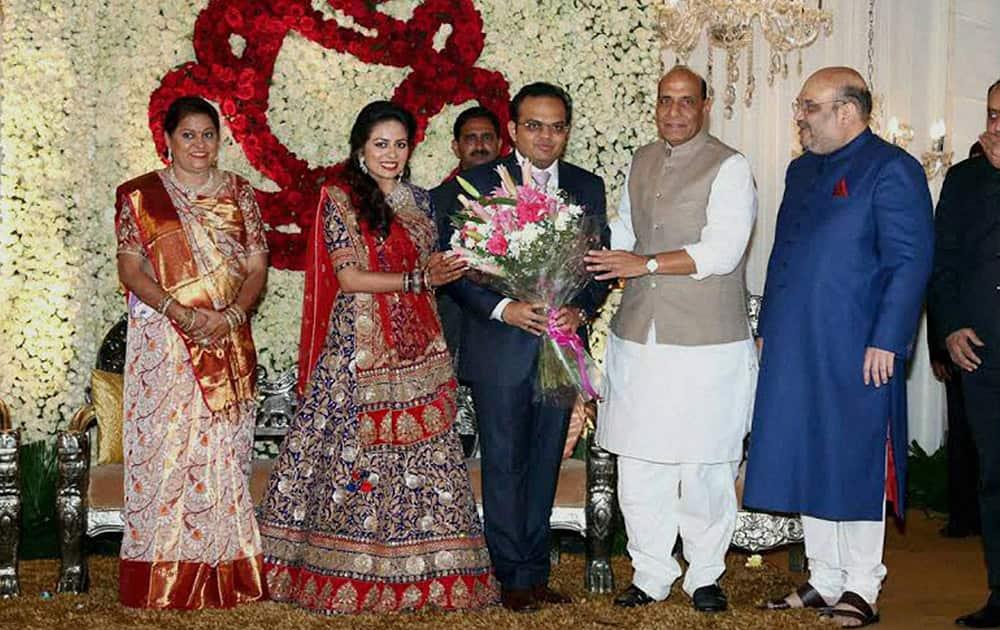 Wedding Reception Of Amit Shahs Son News