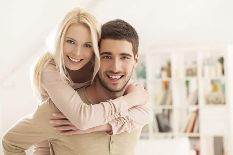 Couples as happy as they appear on Facebook