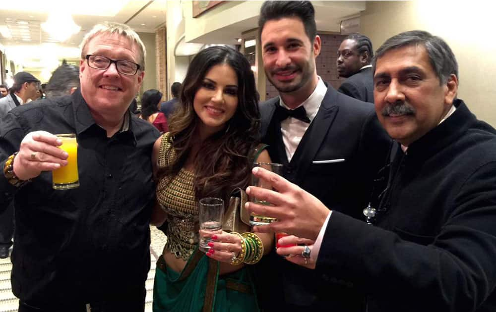 Deepa Mehta ‏:- Congrats @sunnyleone and #DilipMehta for the Can wrap. Can't wait to see the doc. A winner! -twitter