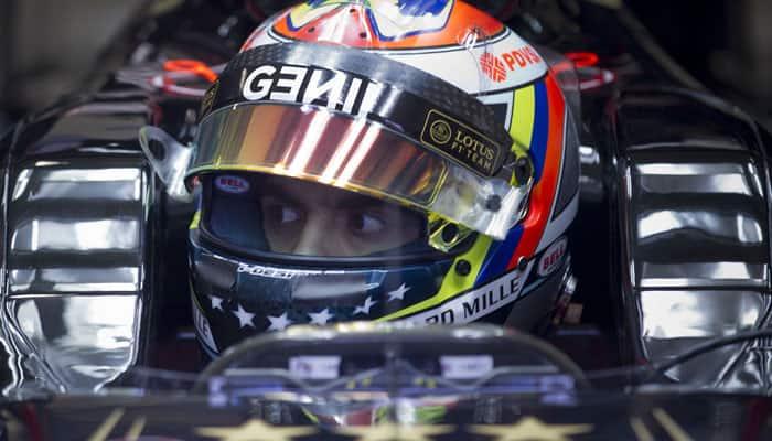 Pastor Maldonado quickest, ill Lewis Hamilton sidelined in Barcelona