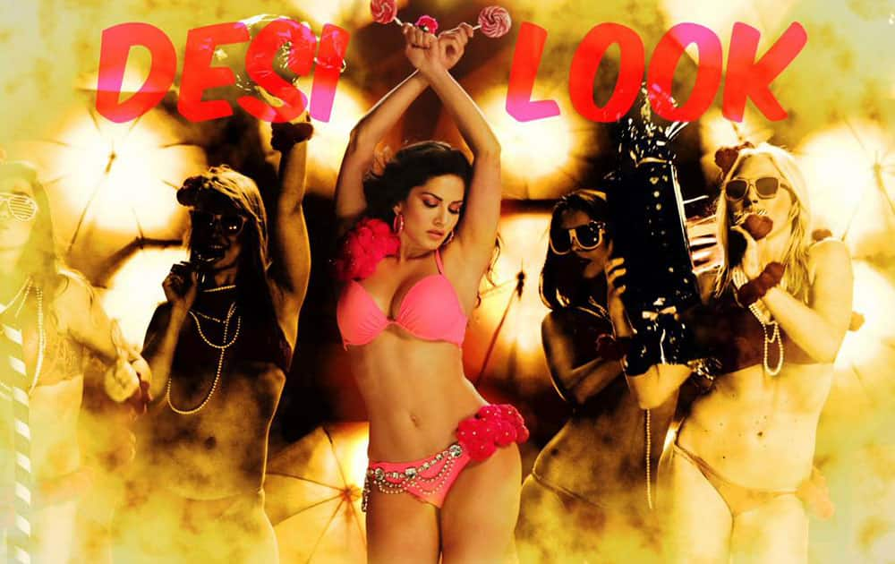 ek paheli...Leela :- How many times have you watched #DesiLook? Let's see who has watched it the maximum times! -twitter