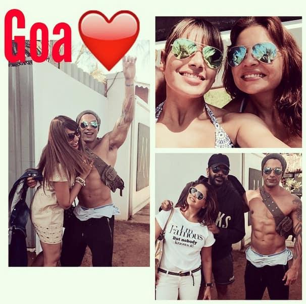 bipashabasu : Live Life! Love Life!! @iamksgofficial @deannepanday @rockystarcouture - thank uuuuu! - Instagram