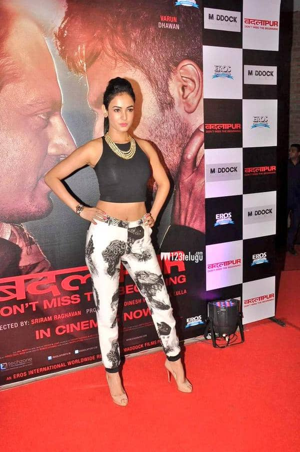 BeautyQueen @sonalchauhan7 looking gorgeous at#BadlapurSuccess party.even black is looking colorful on @sonalchauhan7 - Twitter@Harsh_LUV_sonal