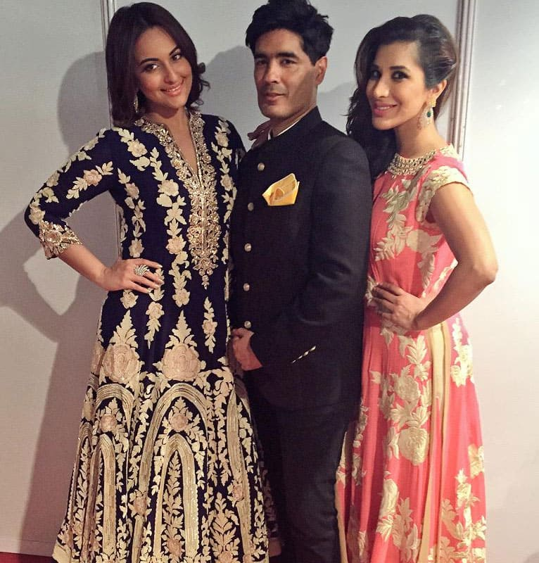 SOPHIE CHOUDRY :-Stunning show for #CPAA last nite.. Tku @ManishMalhotra1 for letting us be a part of an event for such a good cause -twitter