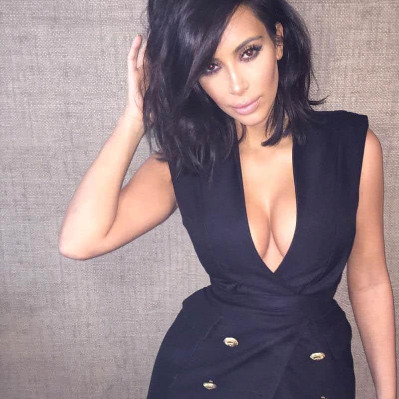 Kim Kardashian :- Today's vibes -twitter