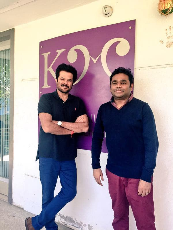Anil Kapoor : Was a very emotionally, spiritually and musically enriching feeling meeting @arrahman at his music academy.  - Twitter