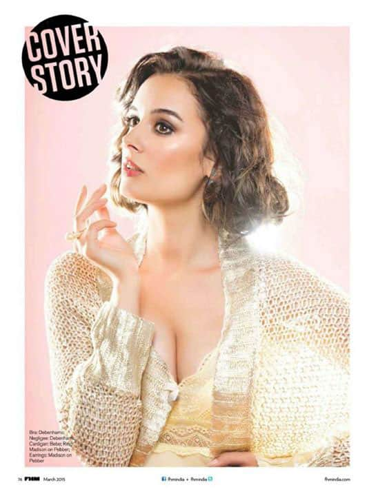 Evelyn Sharma featured on FHM magazine March 2015 -twitter