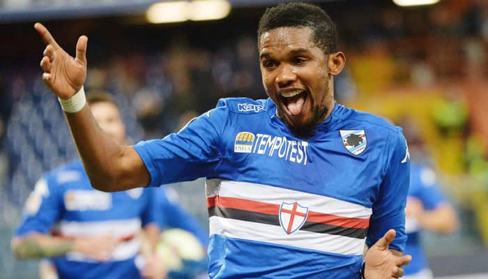 Samuel Eto'o honoured for anti-racism stand