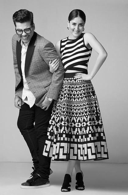 Kareena Kapoor, Karan Johar – Harper's Bazaar March 2015 photo shoot -twitter
