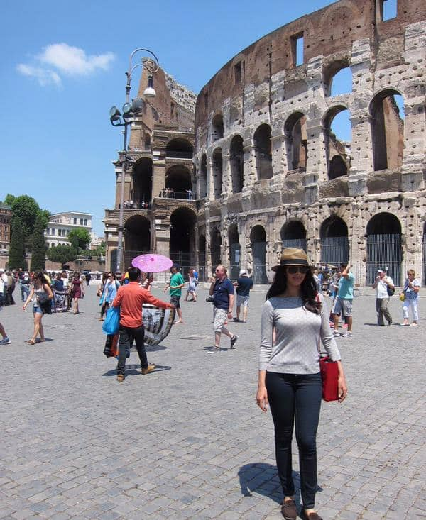 Rome is wonderful, loving it :) - Twitter@mallikasherawat