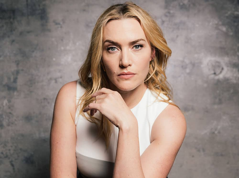 actress Kate Winslet poses for a portrait for the film,
