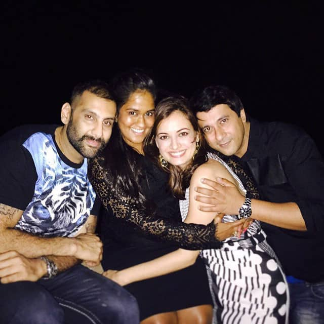Amrita Arora's husband Shakeel Ladak celebrated his 40th birthday with Friends and Family. -instagram
