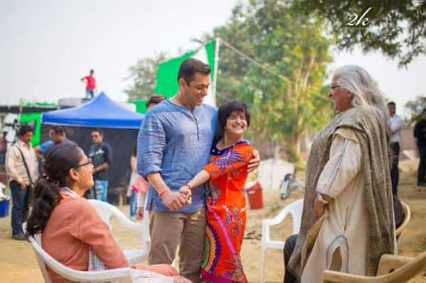 A candid Salman picture Pic Courtesy: Twitter@BeingSalmanKhan
