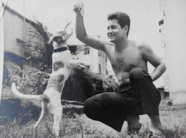 Younger days of Salim Khan Pic Courtesy: Twitter@BeingSalmanKhan