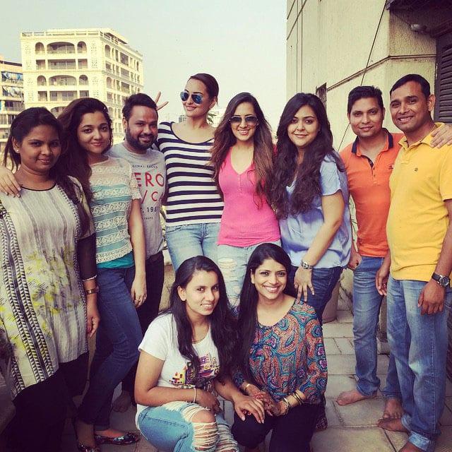 Sonakshi Sinha :- Friends for life ❤❤❤ #friendship #precious #mygirls  -instagram