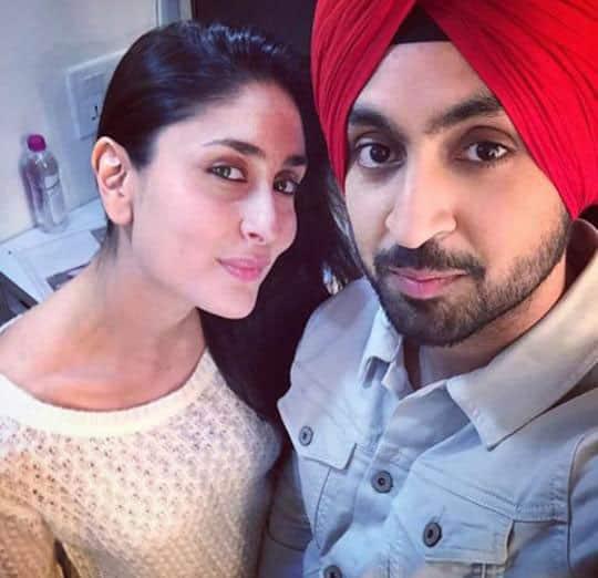 Kareena Kapoor Khan :- Photo:  New, Selfie on the sets of Udta Punjab with @diljitdosanjh -twitter