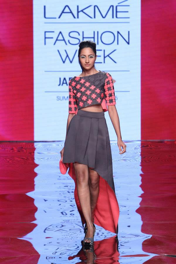 VOGUE India :- View the S/R'15 collection for @PankajandNidhi   -twitter