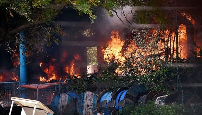Massive fire in Parliament complex doused, President calls for probe