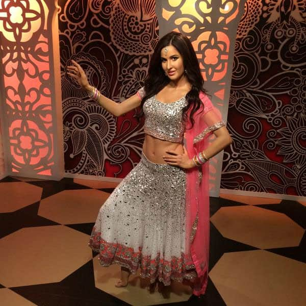 Manish Malhotra :- Once again @ManishMalhotra1 @MadameTussauds!Our mirrorwork lehenga for Bollywood dancing diva Katrina Kaif wax statue  -twitter