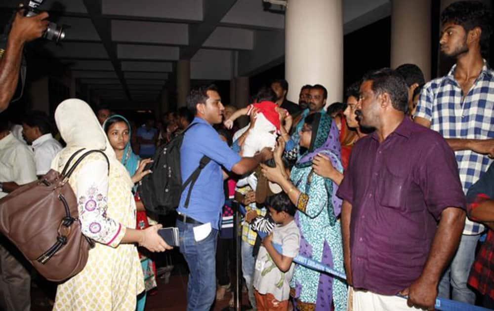 Indians evacuated from Yemen. twitter