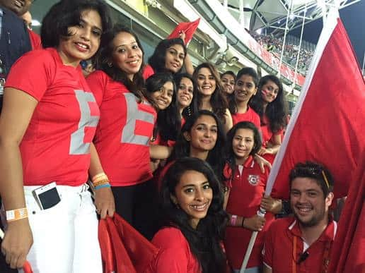 Not the best start 4 #Kxip, but we have a long way 2go & the boys are warming up. Well played #RR  &Thank U Pune - Twitter@realpreityzinta