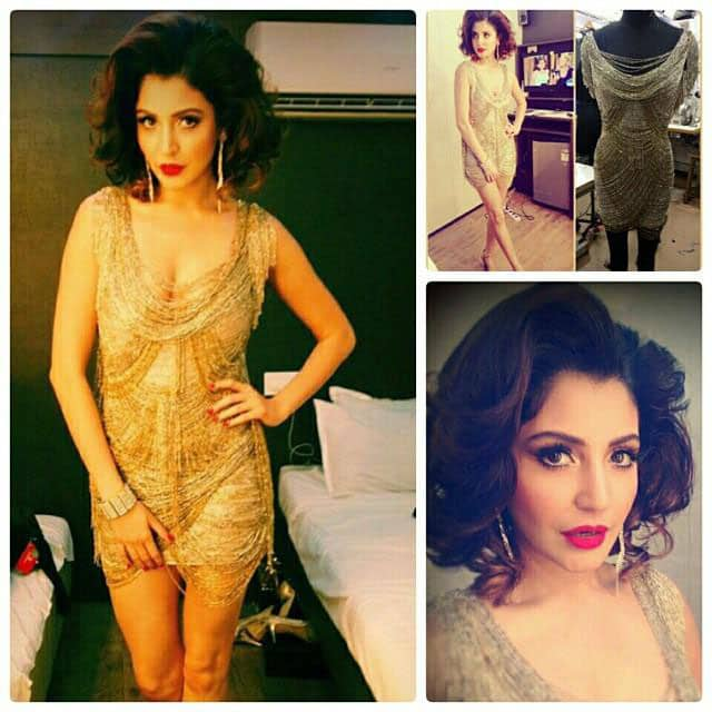 The stunning Anushka Sharma in Babita Malkani for Bombay Times cover shoot to promote Bombay Velvet. -twitter