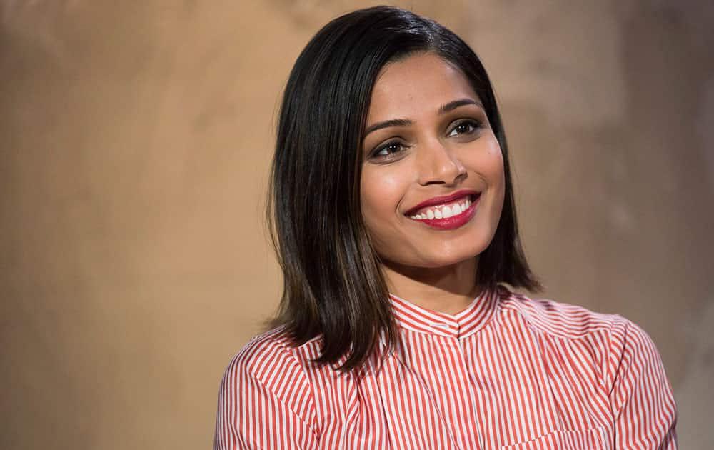 Freida Pinto participates in AOL's BUILD Speaker Series to discuss her new film