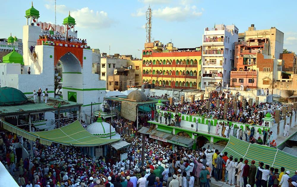 Dargah of the Sufi Saint Khwaja Moinuddin Chishti is celebrating Flag Ceremony of Urs Festival in Ajmer.