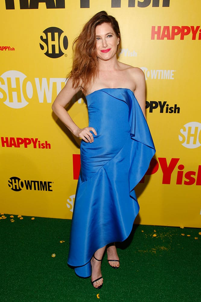 Kathryn Hahn attends the Showtime series premiere of