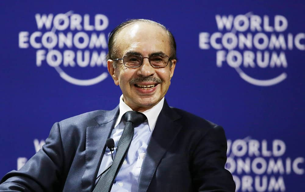 Adi Godrej, Chairman of the Godrej Group, speaks during a session at the World Economic Forum on East Asia in Jakarta, Indonesia.